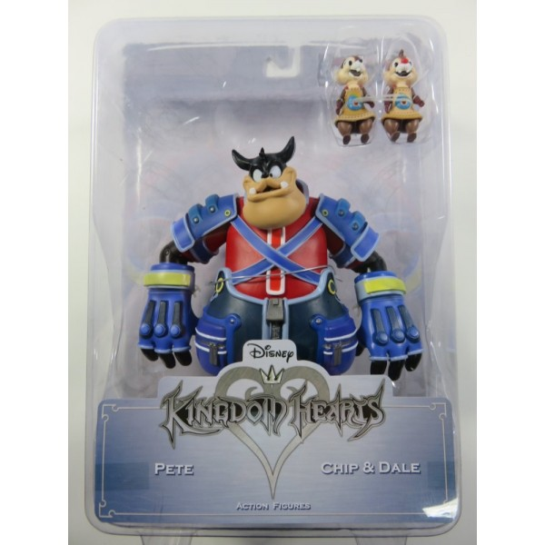 FIGURINE KINGDOM HEARTS PETE AND CHIP AND DALE EURO NEW