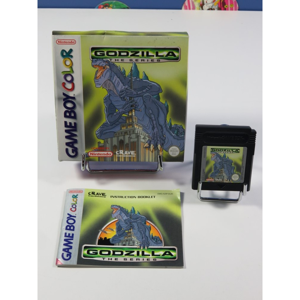 GODZILLA THE SERIES GAMEBOY COLOR (GBC) EURO (COMPLET - GOOD CONDITION)