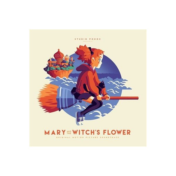 VINYLE MARY AND THE WITCH S FLOWER BY TAKATSUGU MURAMATSU 2LP (MOND-128)