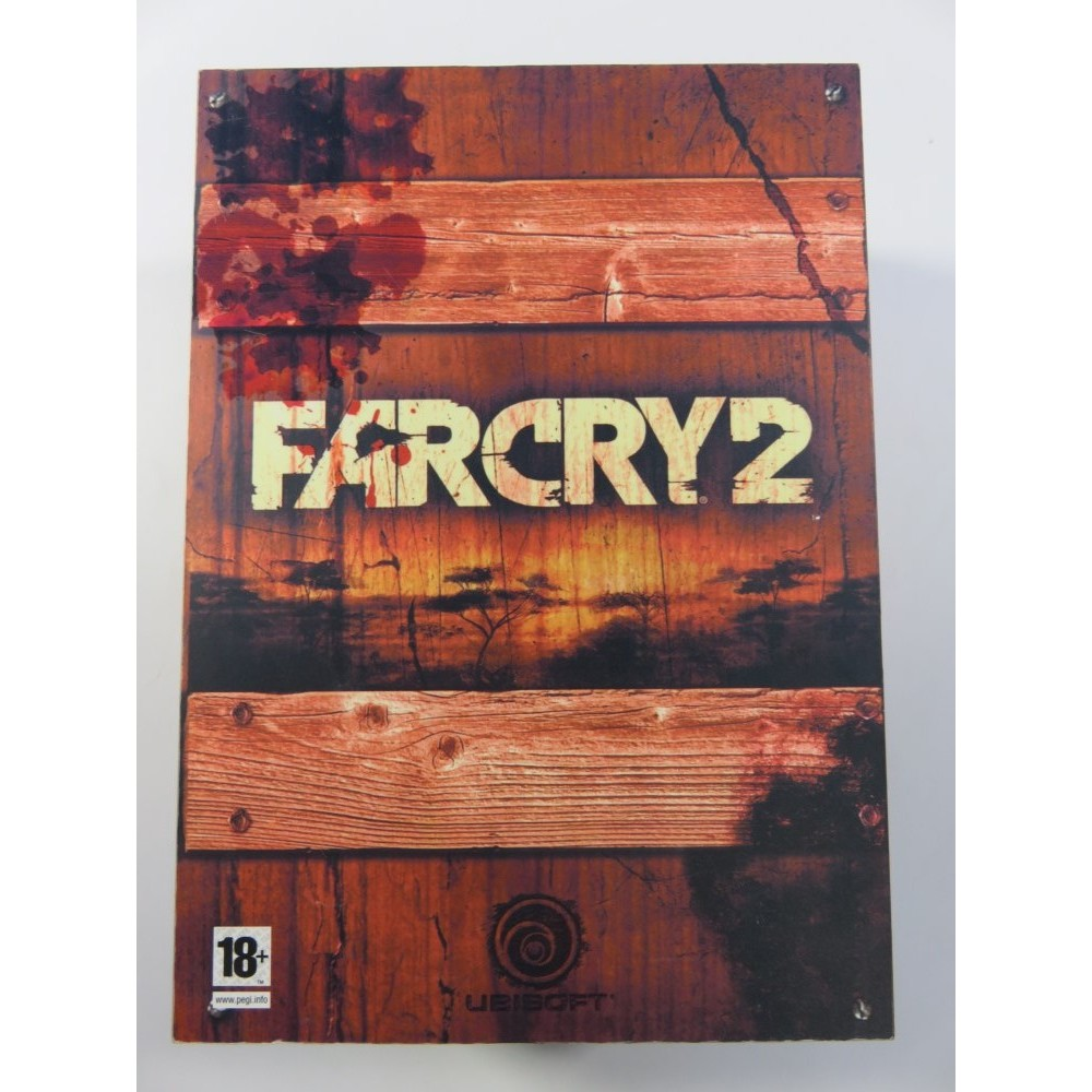 FARCRY 2 COLLECTOR BOX (SANS T-SHIRT) XBOX 360 PAL-EURO OCCASION