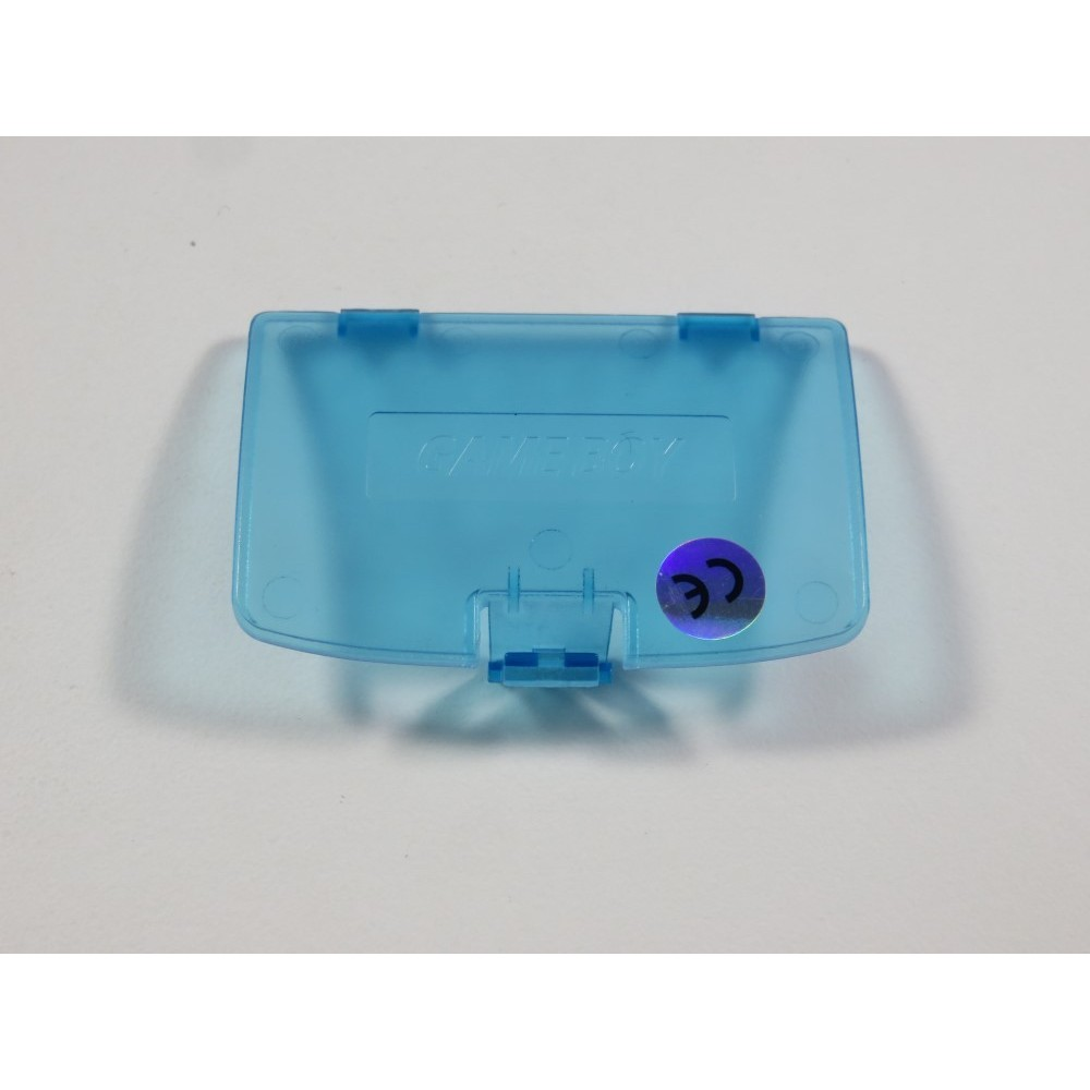 COVER BATTERY - CACHE PILE - NINTENDO GAME BOY COLOR (GBC) CLEAR BLUE NEUF - BRAND NEW