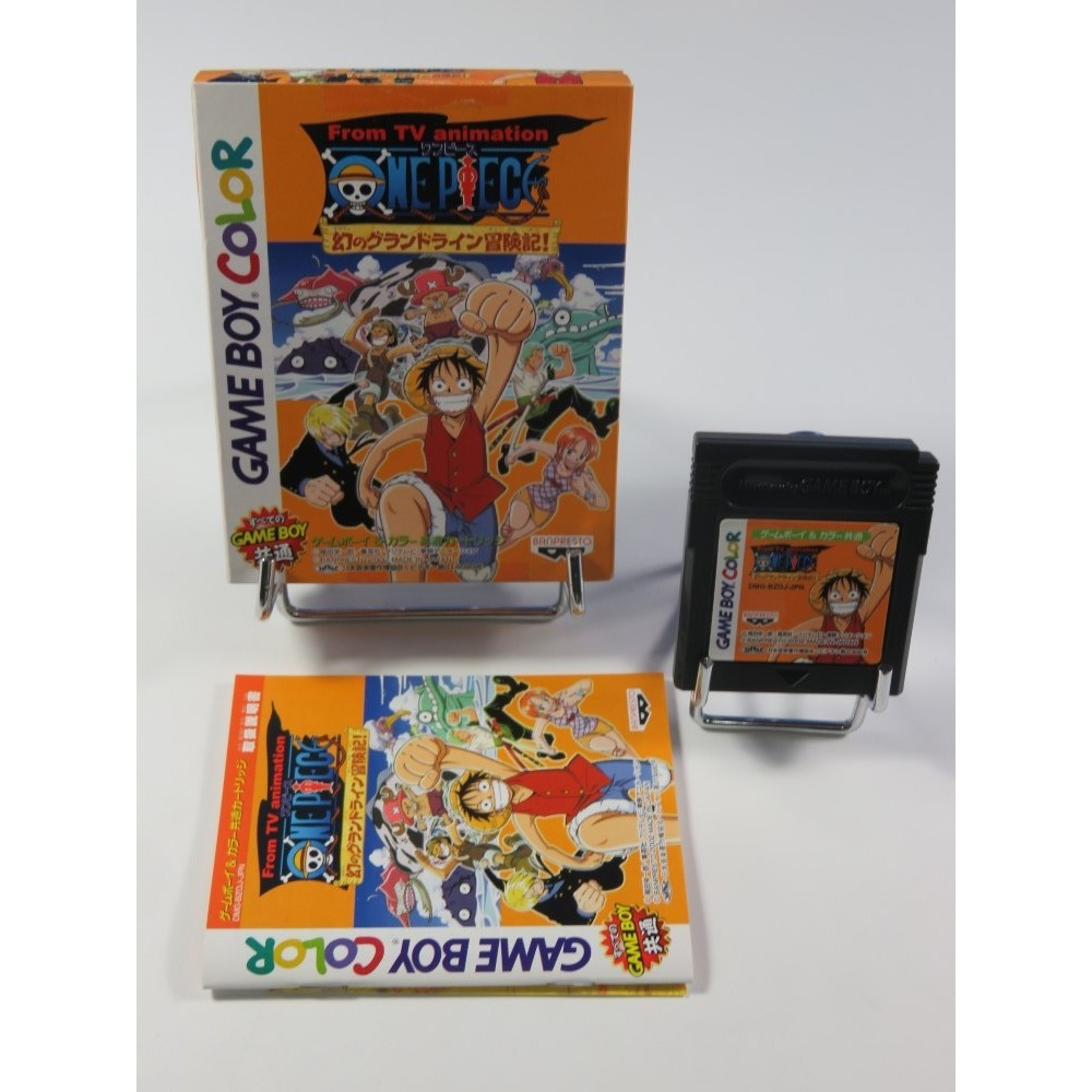 ONE PIECE MABOROSHI NO GRAND LINE BOUKENKI NINTENDO GAMEBOY COLOR (GBC) JPN (COMPLET - VERY GOOD CONDITION)