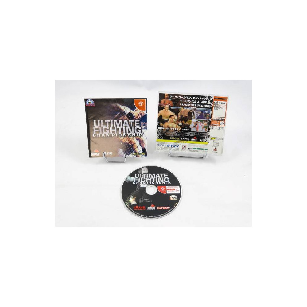 ULTIMATE FIGHTING CHAMPIONSHIP DREAMCAST NTSC-JPN OCCASION