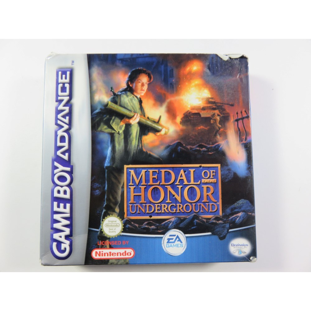 MEDAL OF HONOR UNDERGROUND GAMEBOY ADVANCE (GBA)PAL-EURO OCCASION