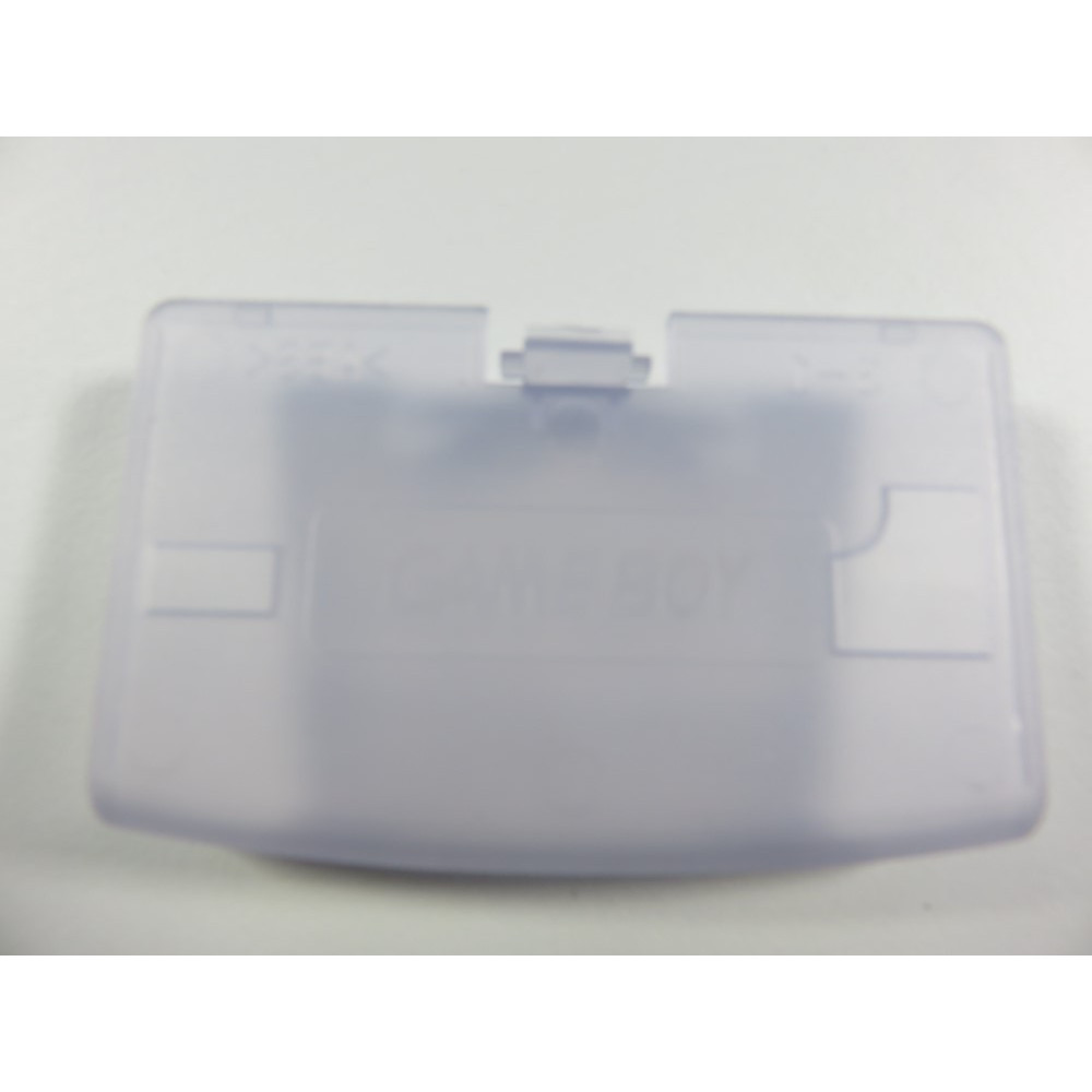 BATTERY COVER GAME BOY ADVANCE CLEAR WHITE
