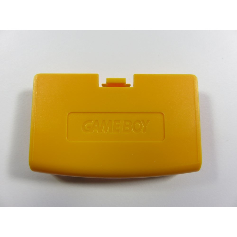 BATTERY COVER GAME BOY ADVANCE YELLOW NEW