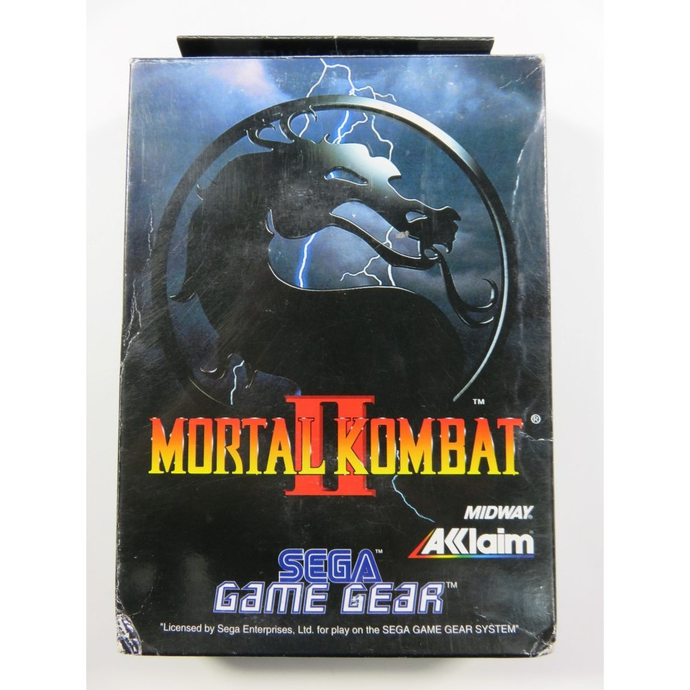 MORTAL KOMBAT II SEGA GAMEGEAR EURO (COMPLETE - GOOD CONDITION)