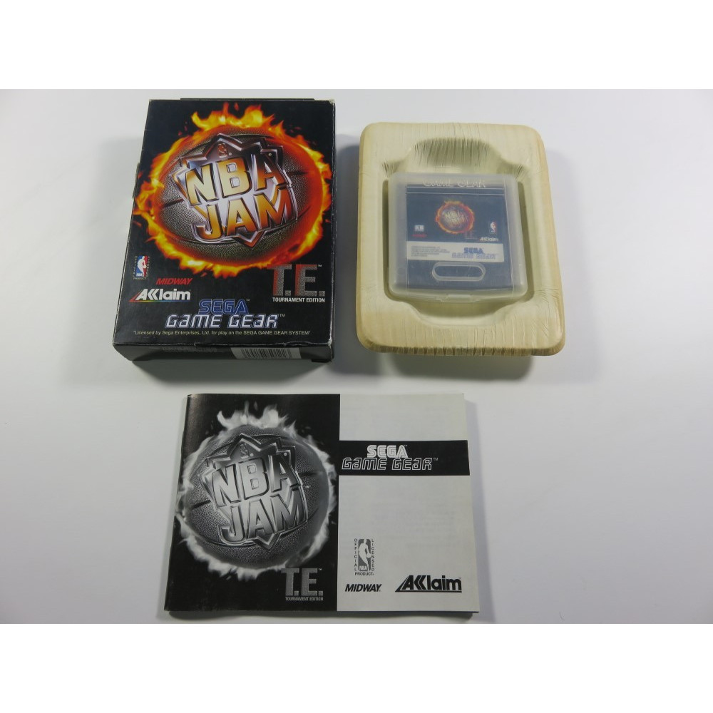 NBA JAM TOURNAMENT EDITION SEGA GAMEGEAR EURO (COMPLETE - GOOD CONDITION)