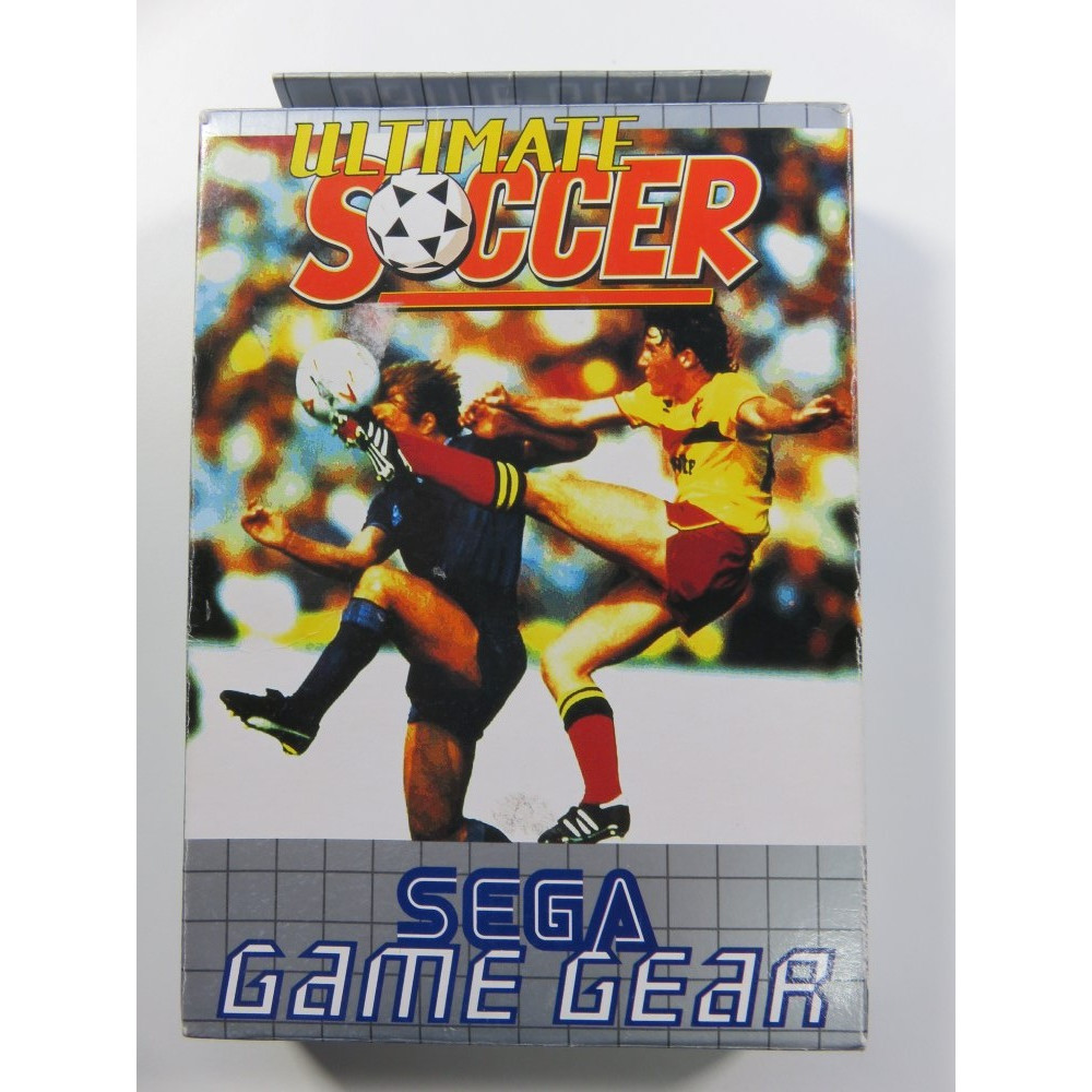ULTIMATE SOCCER SEGA GAMEGEAR EURO (COMPLETE - GOOD CONDITION)