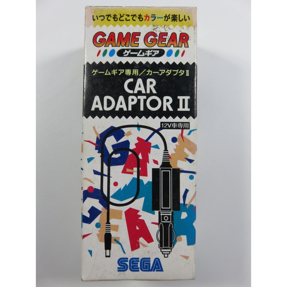 CAR ADAPTOR II SEGA GAMEGEAR JPN OCCASION