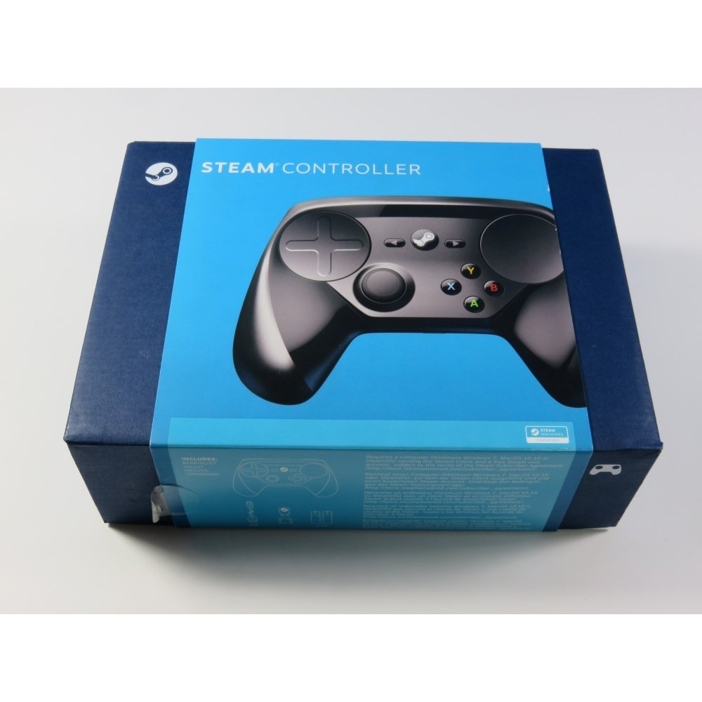 CONTROLLER - MANETTE STEAM (MACHINES COMPATIBLE) WIRELESS PC EURO (COMPLET - GOOD CONDITION (STEAM ACCOUNT REQUIRED)