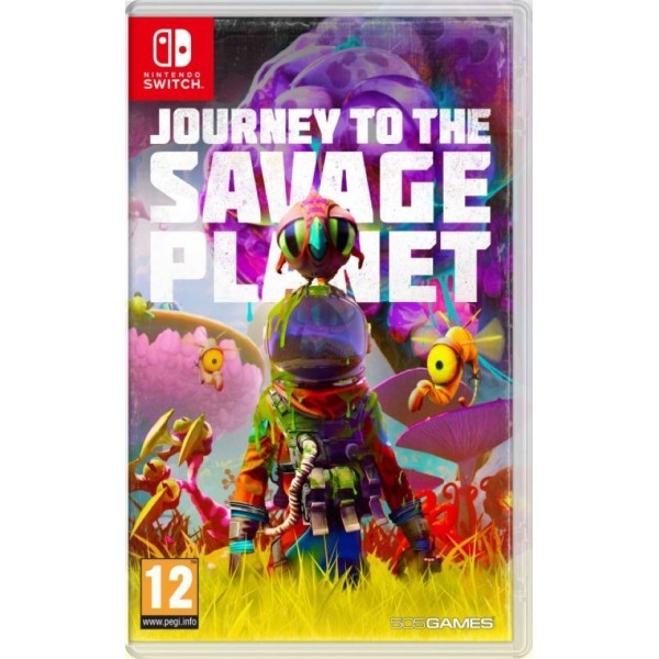 JOURNEY TO THE SAVAGE PLANET SWITCH FR OCCASION