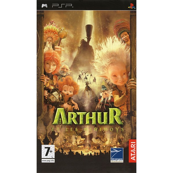 ARTHUR & LES MINIMOYS PSP FR OCCASION SANS NOTICE