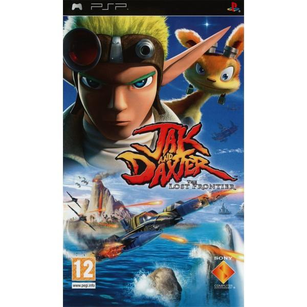 JAK AND DAXTER: THE LOST FRONTIER PSP FR OCCASION SANS NOTICE
