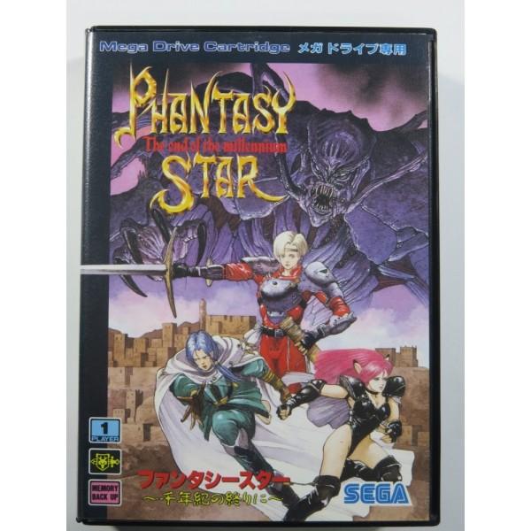 PHANTASY STAR - SENNENKI NO OWARI NI (THE END OF THE MILLENNIUM) SEGA MEGADRIVE NTSC-JPN (COMPLETE - GOOD CONDITION)