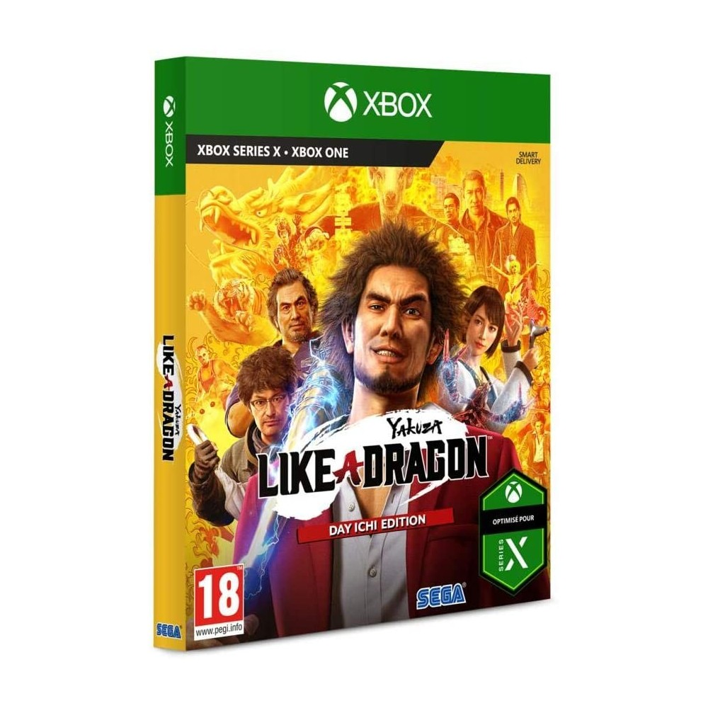 YAKUZA : LIKE A DRAGON LIMITED - XBOX ONE FR Preorder