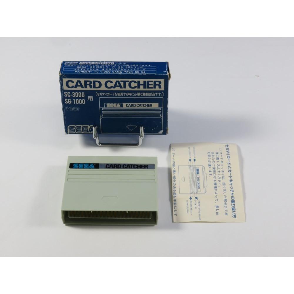 CARD CATCHER SEGA SG-1000 / SC-3000 JPN (COMPLET - GOOD CONDITION)