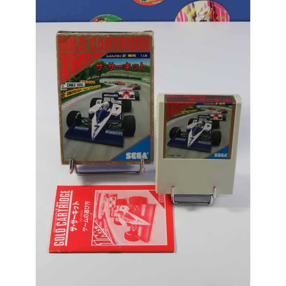 THE CIRCUIT SEGA MARK III NTSC-JPN (COMPLET - GOOD CONDITION)