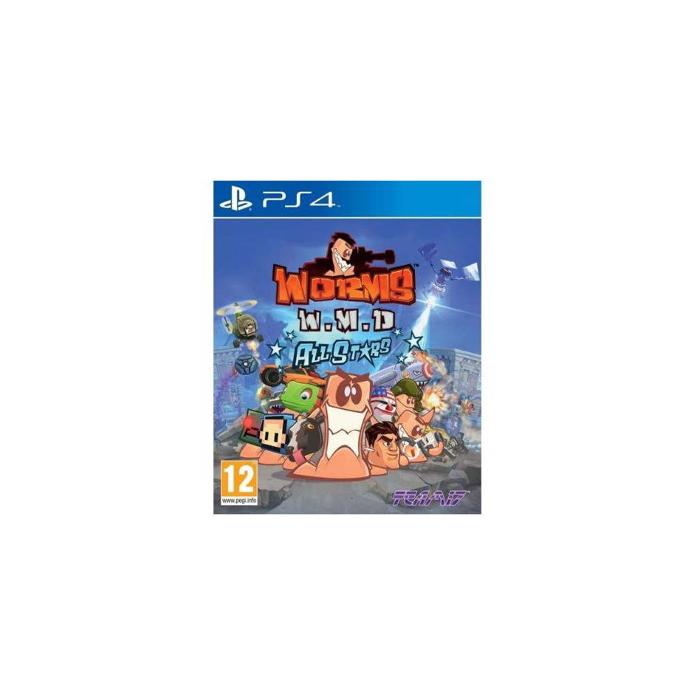 WORMS W.M.D PS4 EURO FR NEW