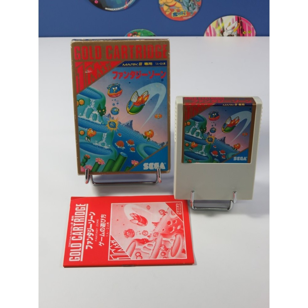 FANTASY ZONE SEGA MARK III NTSC-JPN (COMPLET - GOOD CONDITION)