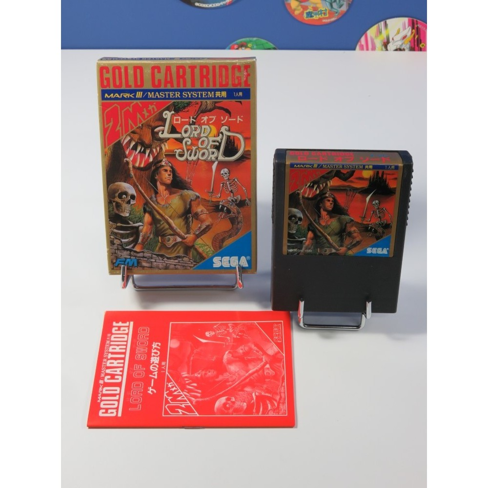 LORD OF THE SWORD SEGA MARK III NTSC-JPN (COMPLET - VERY GOOD CONDITION)