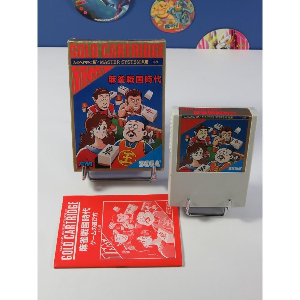 MAHJONG SENGOKU JIDAI SEGA MARK III NTSC-JPN (COMPLET - GOOD CONDITION)
