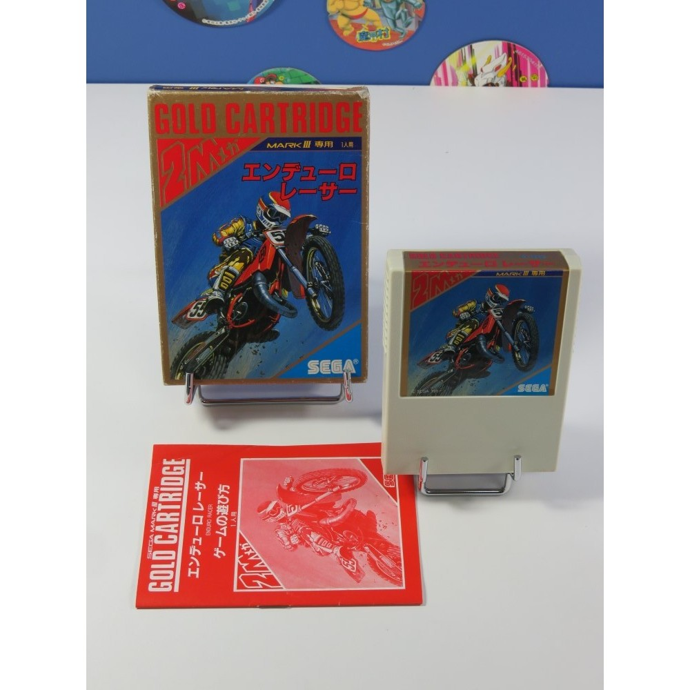 ENDURO RACER SEGA MARK III NTSC-JPN (COMPLET - GOOD CONDITION OVERALL)