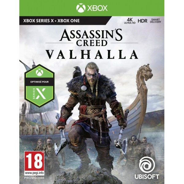 ASSASSIN S CREED VALHALLA XBOX ONE FR NEW