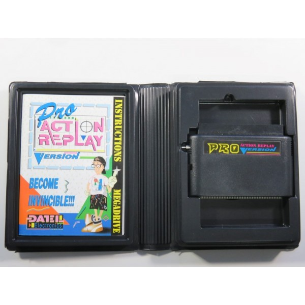 ACTION REPLAY VERSION PRO SEGA MEGADRIVE PAL (COMPLETE - GOOD CONDITION)