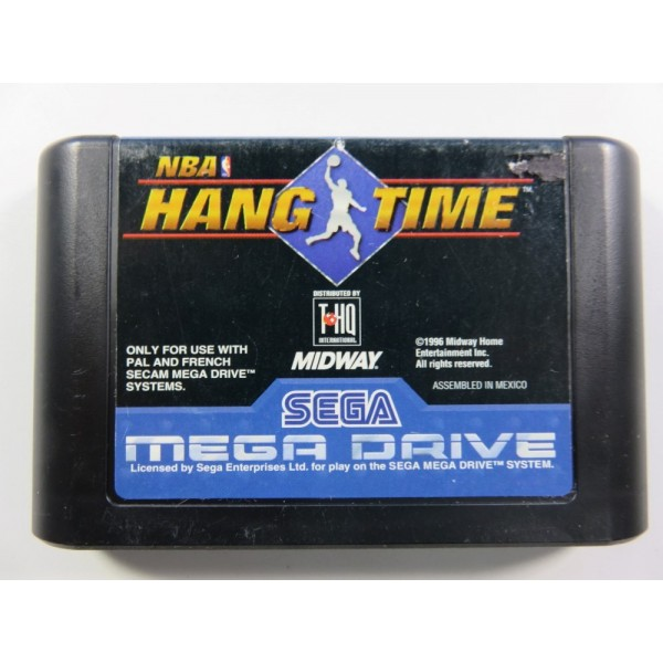 NBA HANG TIME SEGA MEGADRIVE PAL-EURO LOOSE
