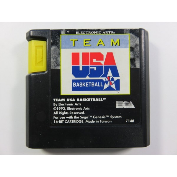 TEAM USA BASKETBALL SEGA MEGADRIVE PAL-EURO LOOSE