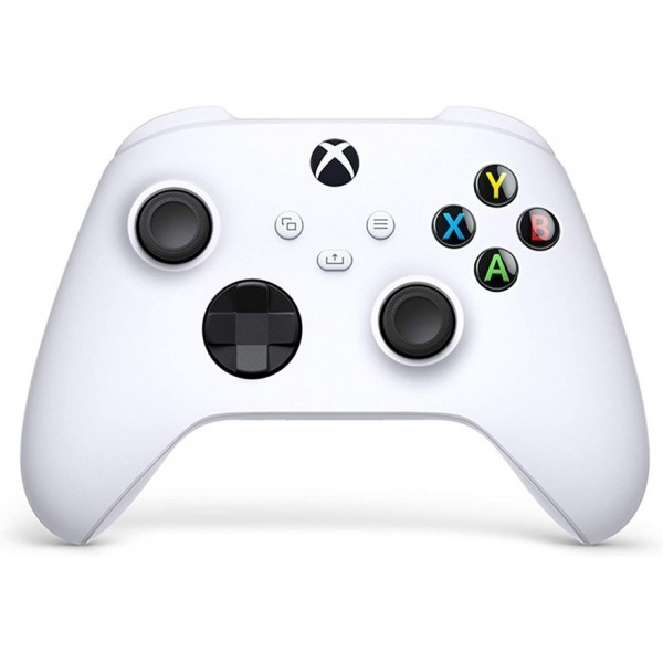 CONTROLLER XBOX ONE SERIES X / S WIRELESS ROBOT WHITE FR NEW