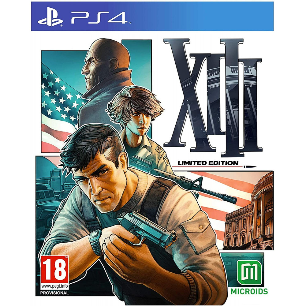 XIII EDITION LIMITEE PS4 FR NEW