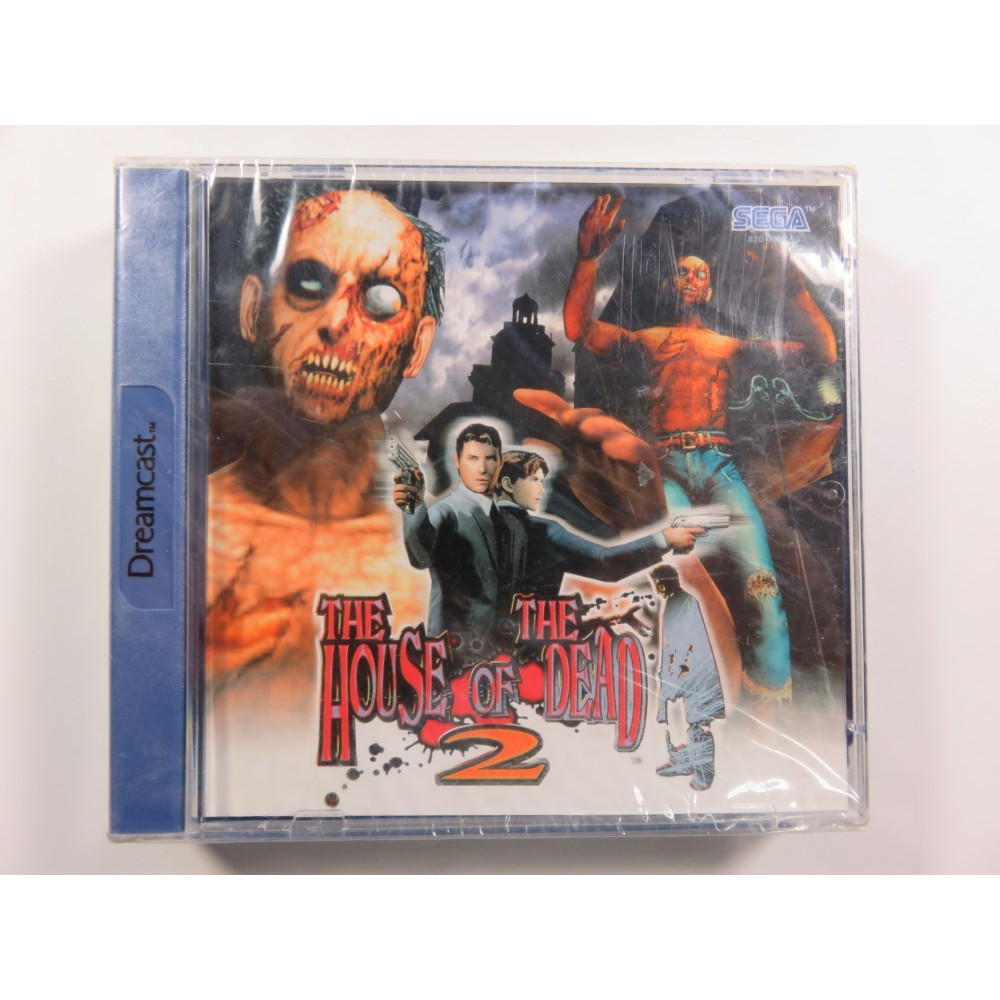 THE HOUSE OF THE DEAD 2 DREAMCAST PAL-EURO NEW