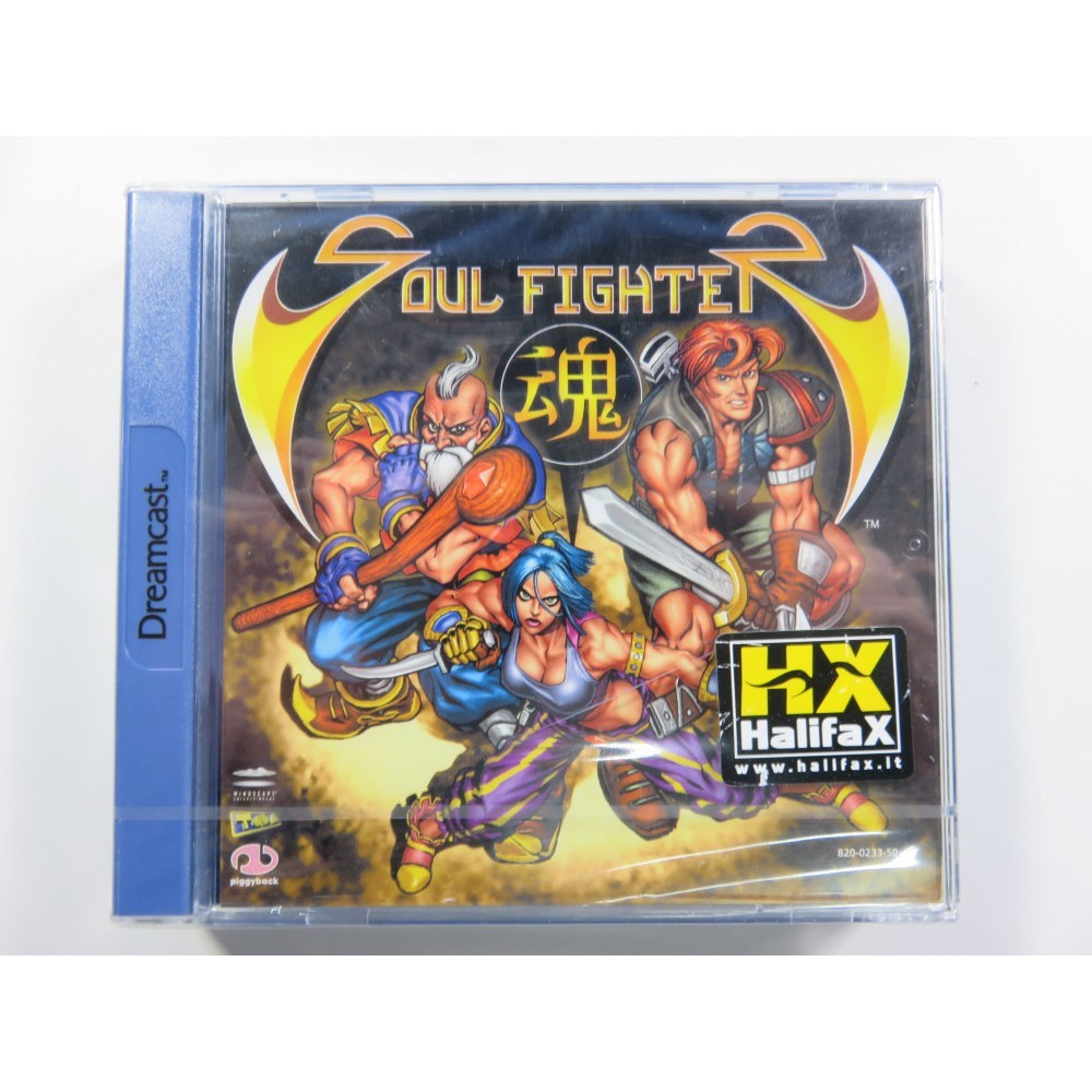SOUL FIGHTER DREAMCAST PAL-EURO (HALIFAX) NEW