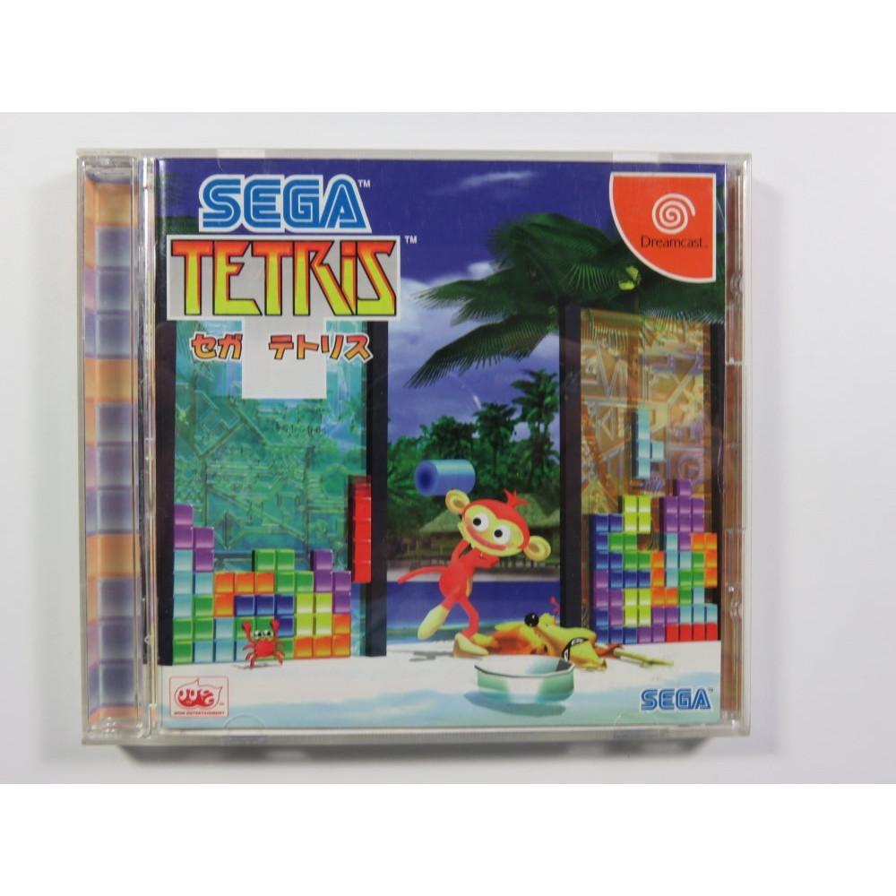 SEGA TETRIS SEGA DREAMCAST NTSC-JPN (COMPLETE WITH SPIN CARD AND REG CARD - GOOD CONDITION)