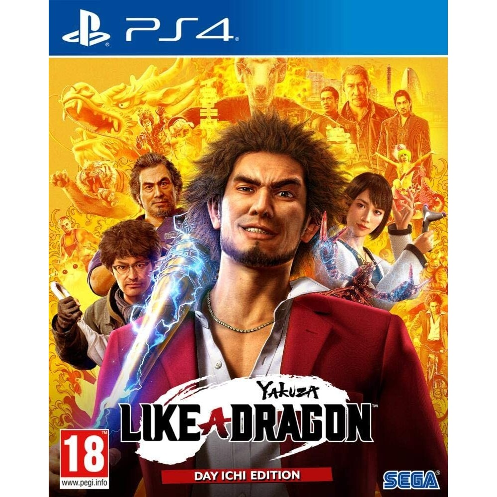 YAKUZA LIKE A DRAGON DAY ICHI EDITION PS4 EURO FR NEW
