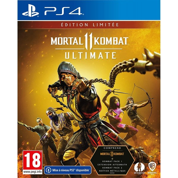 MORTAL KOMBAT XI ULTIMATE EDITION LIMITEE - PS4 FR