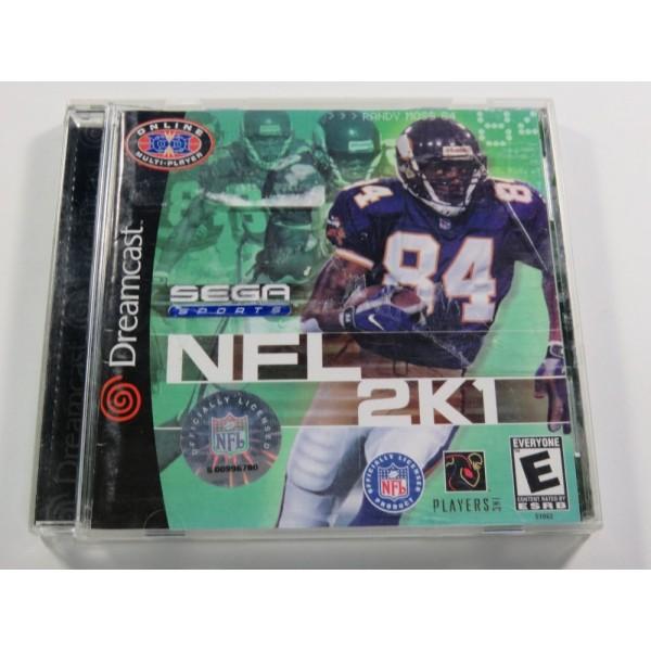 NFL 2K1 DREAMCAST NTSC-USA (COMPLETE)