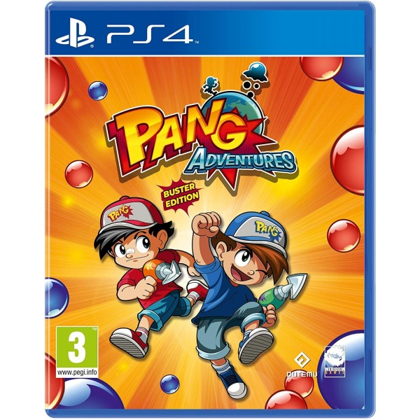 PANG ADVENTURES BUSTER EDITION PS4 FR NEW