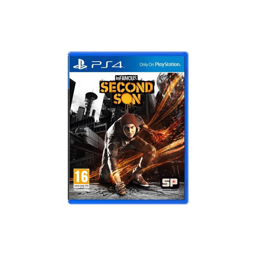 INFAMOUS SECOND SON BUNDLE COPY PS4 FR OCCASION