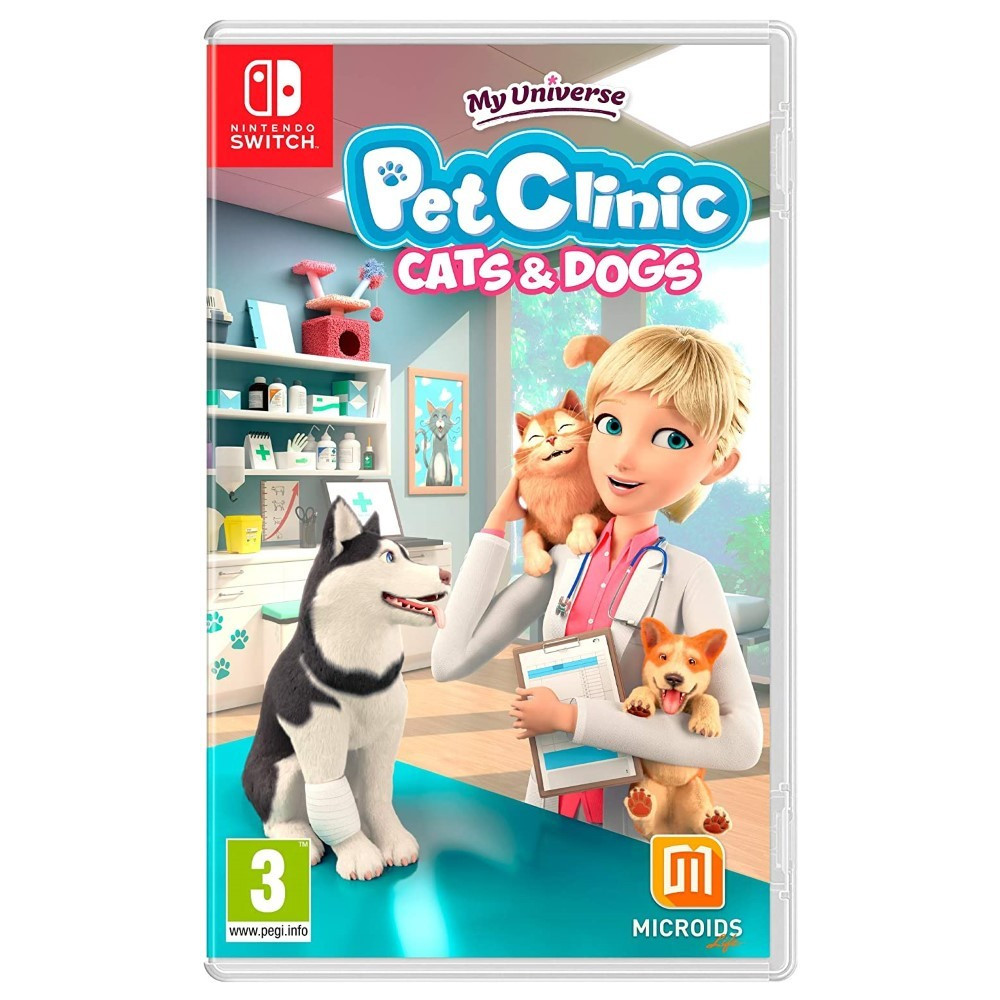 MY UNIVERSE PET CLINIC CATS&DOGS SWITCH FR NEW