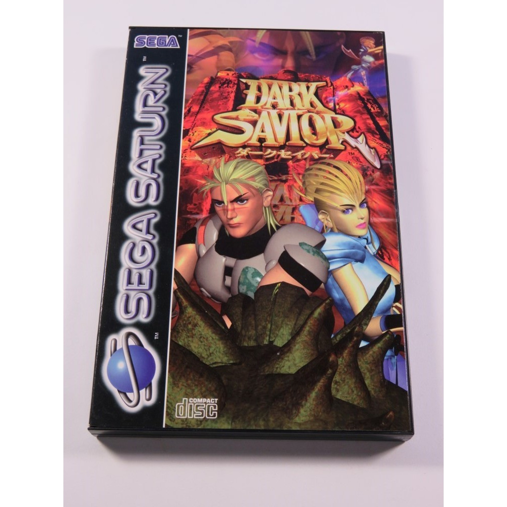 DARK SAVIOR SEGA SATURN PAL-EURO NEUF - BRAND NEW
