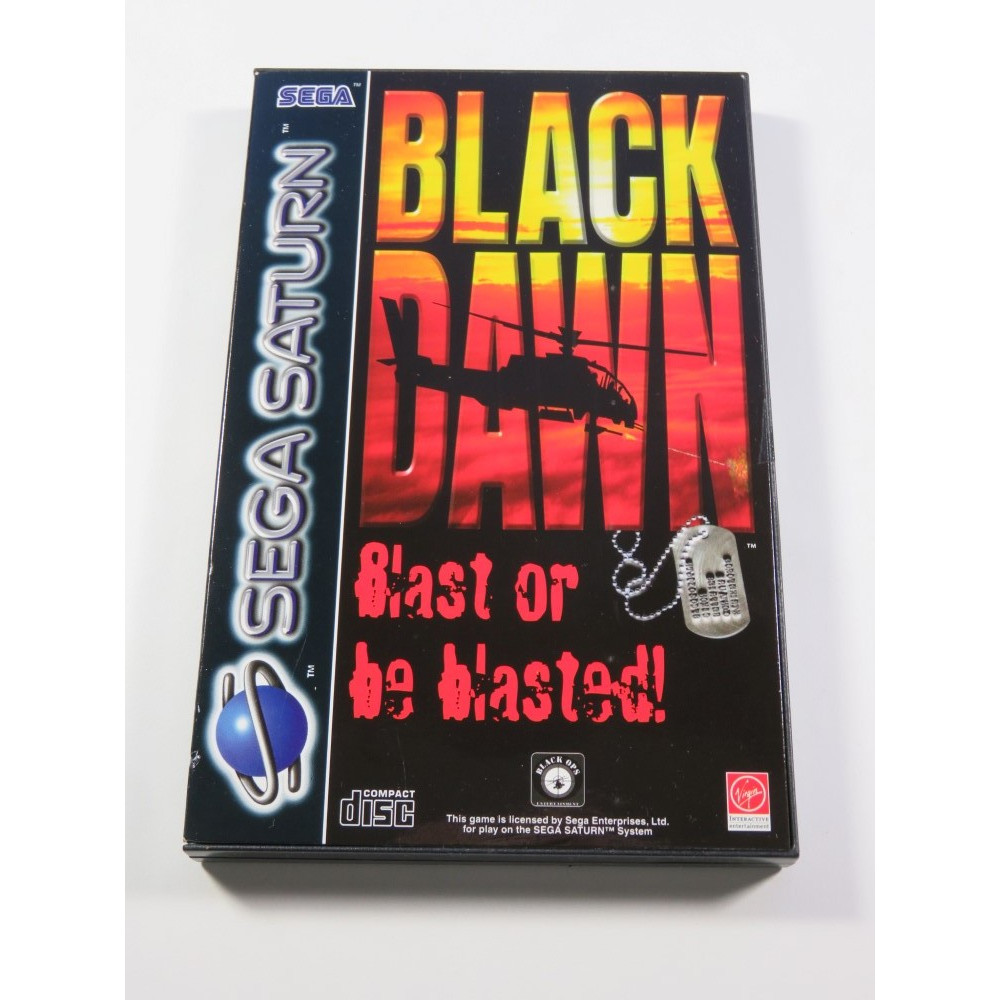 BLACK DAWN SEGA SATURN PAL-EURO NEUF - BRAND NEW