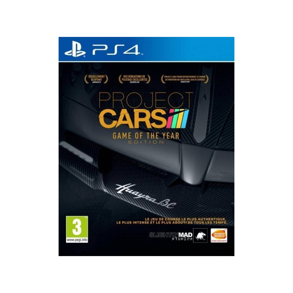 PROJECT CARS GOTY PS4 FR