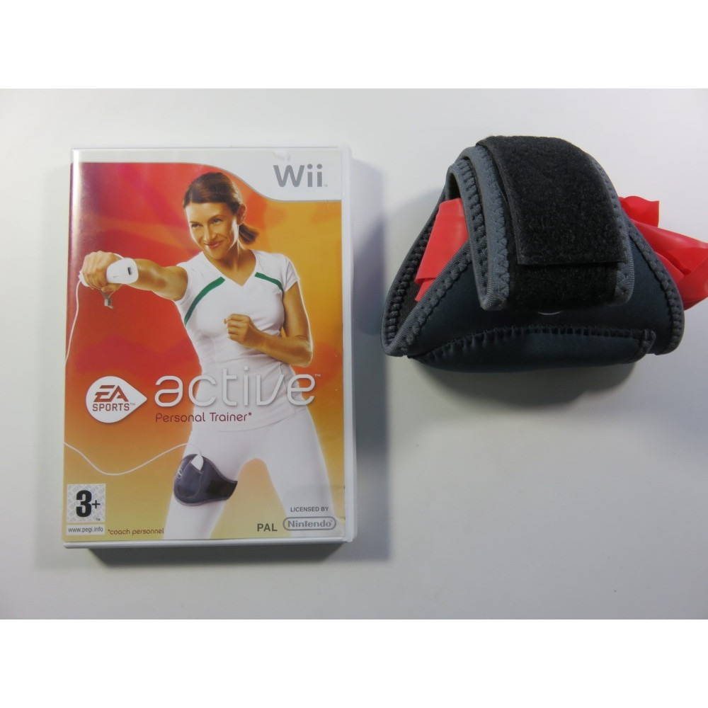 EA SPORTS ACTIVE PERSONAL TRAINER + ACCESSOIRE WII PAL-FR OCCASION