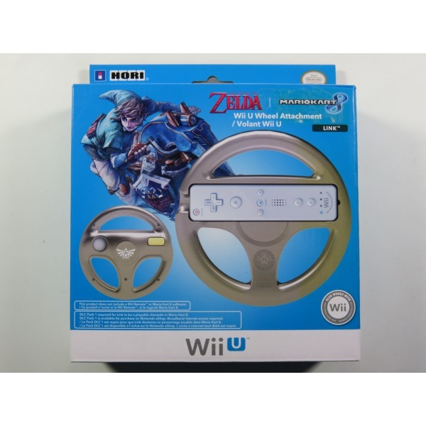 VOLANT - WHEEL NINTENDO WIIU THE LEGEND OF ZELDA NEW