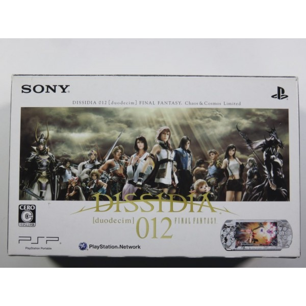 CONSOLE PSP SLIM & LITE 3000 LIMITED DISSIDIA 012 NTSC-JPN (REGION FREE) (COMPLETE - GOOD CONDITION)