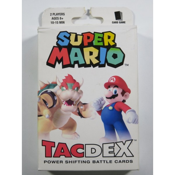 SUPER MARIO TAC DEX POWER SHIFTING BATTLE CARDS EURO NEW