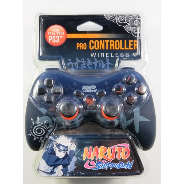 PRO CONTROLLER WIRELESS PLAYSTATION 3 (PS3) NARUTO SHIPPUDEN MANETTE SANS FIL NEW